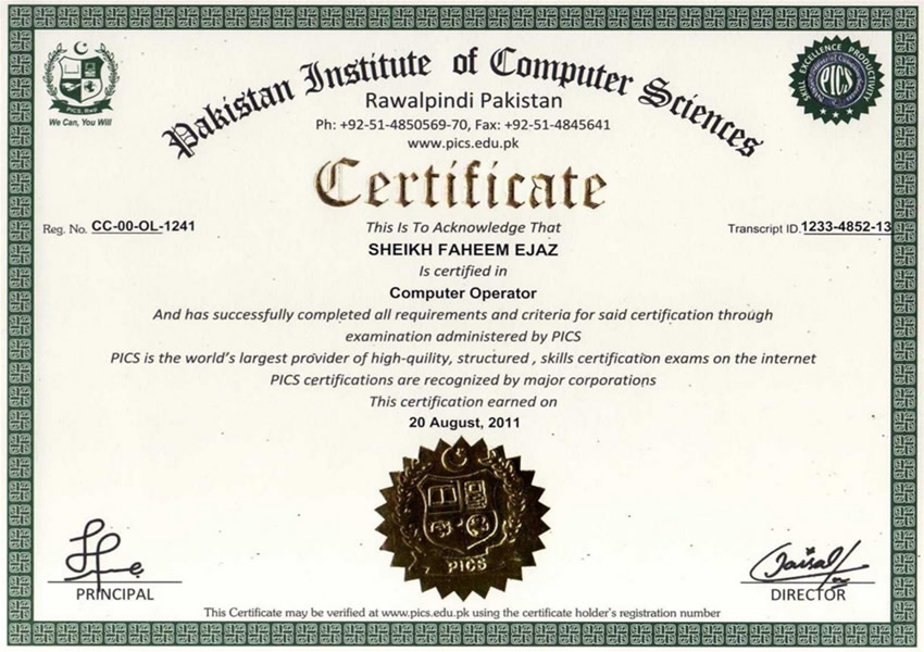 High Quality Certificate Samples And Certificate Samples